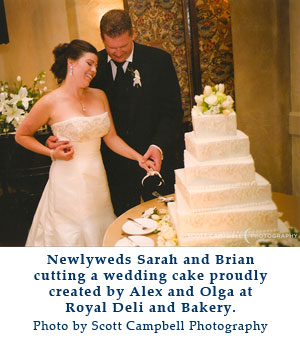royal deli and bakery wedding cakes salinas california monterey county
